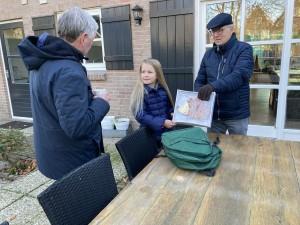 Voorzitter Cor Luijsterburg, Bo Eikenaar en Pieter Denissen
