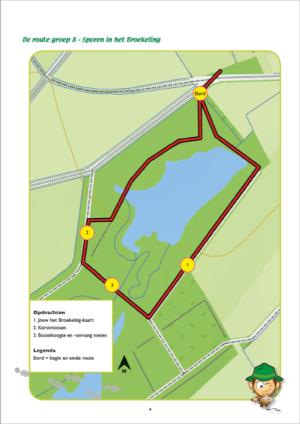Voorbeeld route Broekeling